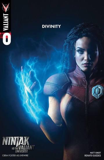 Ciera Foster is LiveWire For The Valiant Universe 3