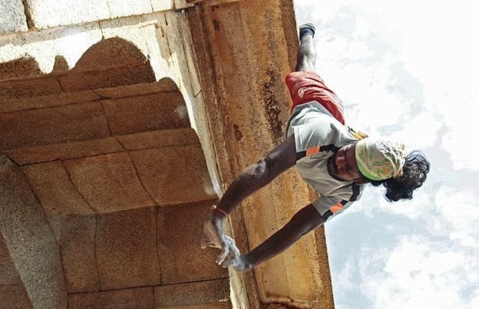 Jyothi Raj- The Real Indian spiderman