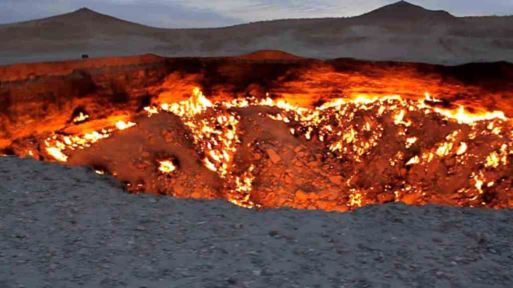 Door to hell burning since 45 years