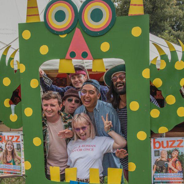 Buzz Magazine at Greenman Ferstival