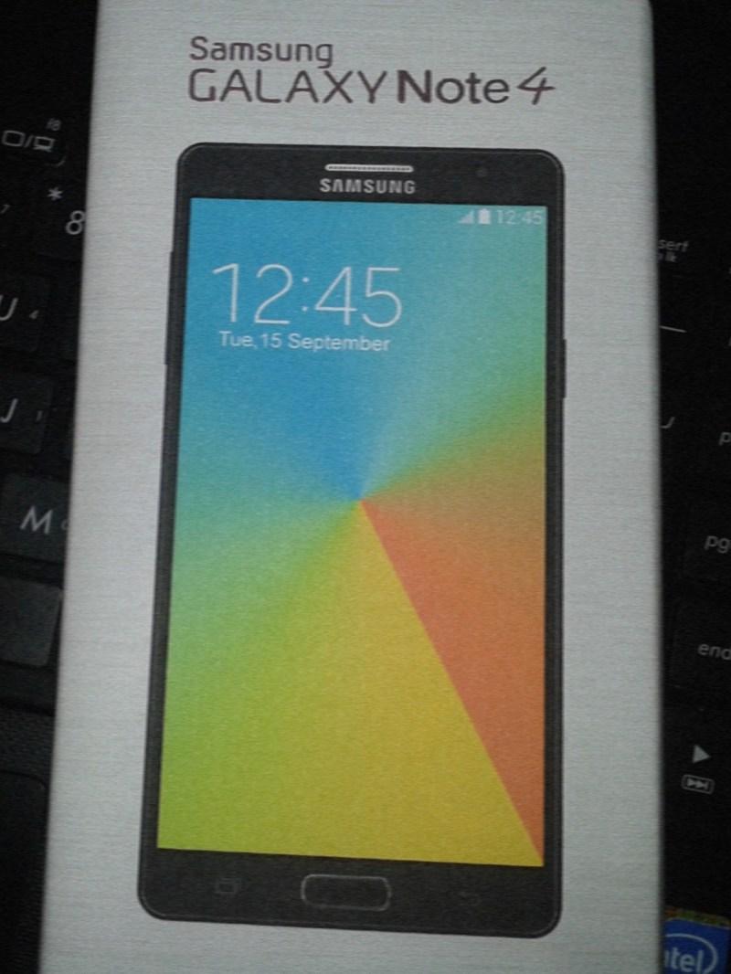 Galaxy Note 4 Leak