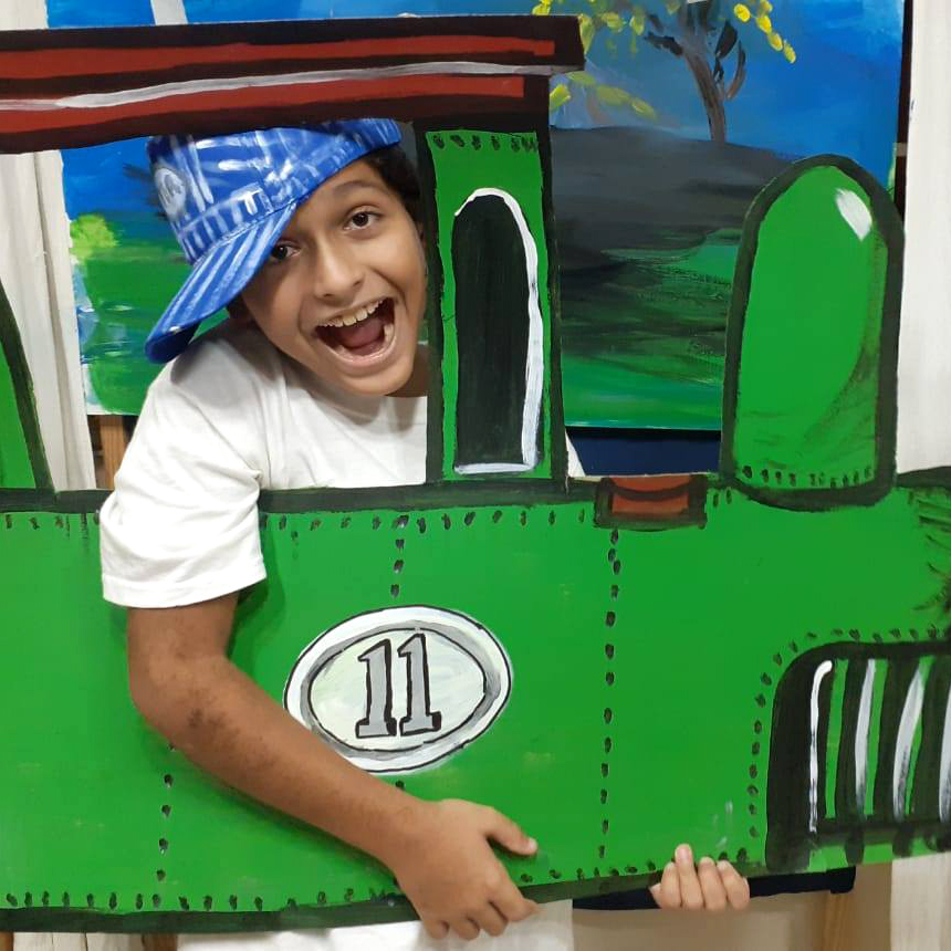 On Train, Dairy Dairy Milky Magic Day Camp Activities