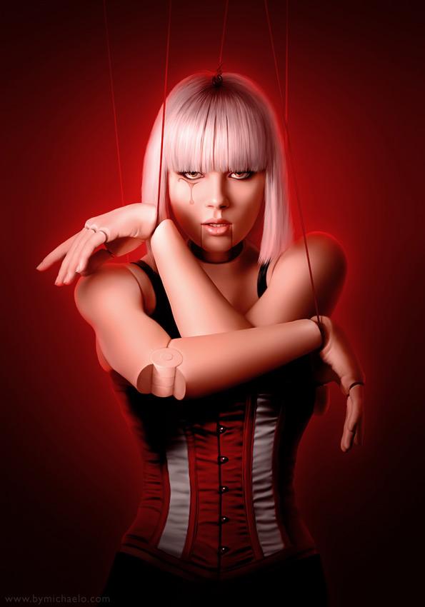 Femme bionique plaything par michaelo.