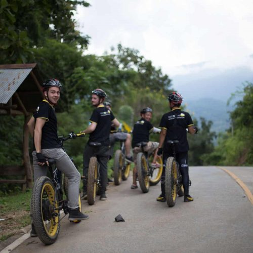on top of the hill | Buzzy Bee Bike, Chiang Mai, Thailand