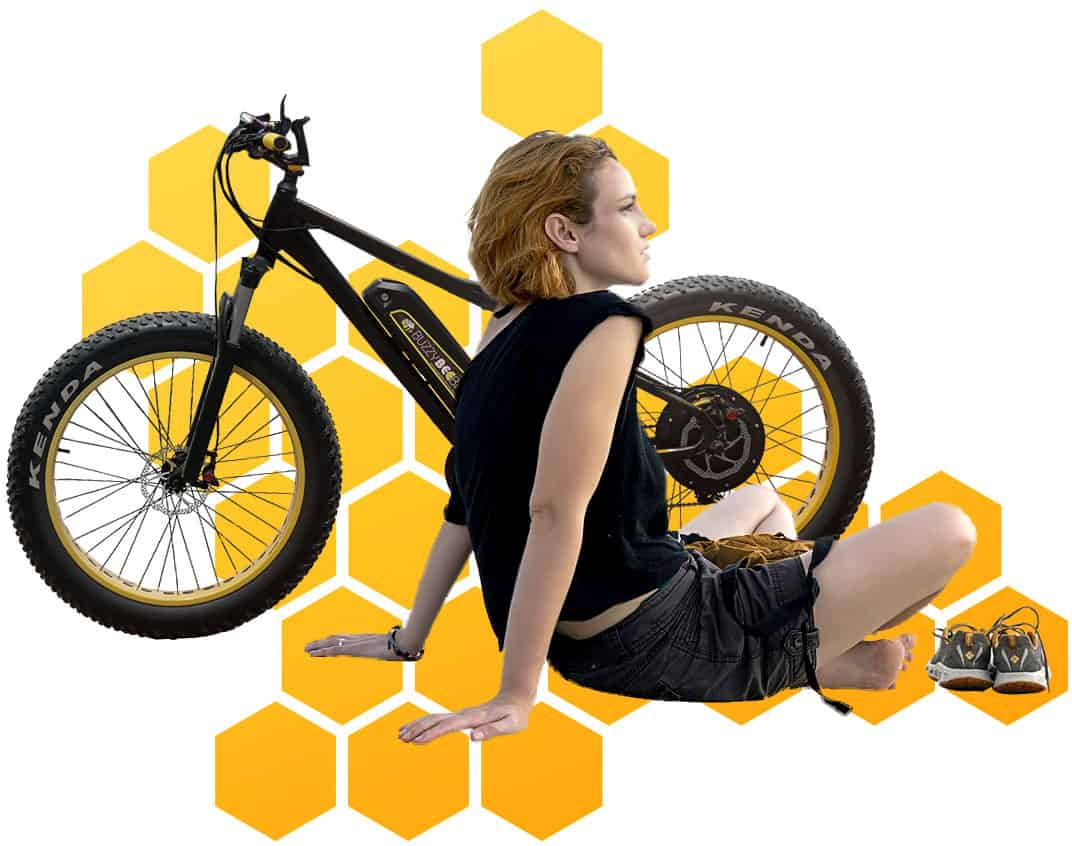 take a break honeycomb | Buzzy Bee Bike, Chiang Mai, Thailand