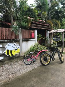 kids trailer 5-9 years | Buzzy Bee Bike, Chiang Mai, Thailand