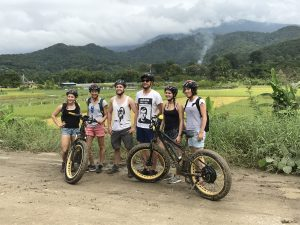 WVS Care for Dogs volunteers on E-bike | Buzzy Bee Bike, Chiang Mai, Thailand