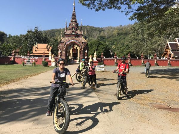 at Wat Ban Pong | Buzzy Bee Bike, Chiang Mai, Thailand
