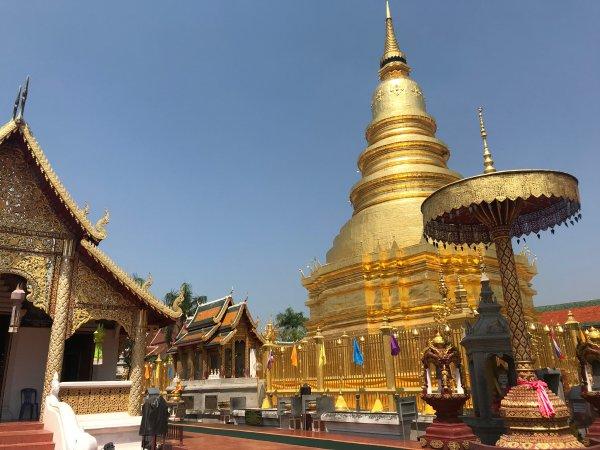 Wat Haripunchai   Buzzy Bee Bike, Chiang Mai, Thailand