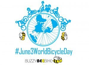 World Bicycle Day | Buzzy Bee Bike, Chiang Mai, Thailand