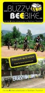 brochure | Buzzy Bee Bike, Chiang Mai, Thailand