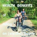 health benefits   Buzzy Bee Bike, Chiang Mai, Thailand