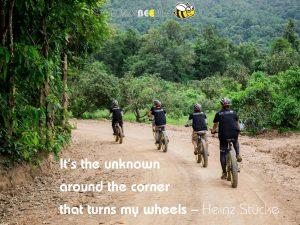 quotes - Heinz Stucke | Buzzy Bee Bike, Chiang Mai, Thailand