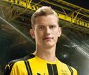 Autografado por Sven Bender, o meia do Borussia Dortmund para a temporada 2016/2017