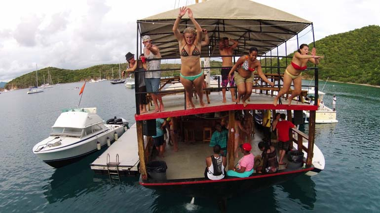 Willy T in the BVI