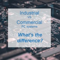 What is the difference between industrial & commercial PCs?