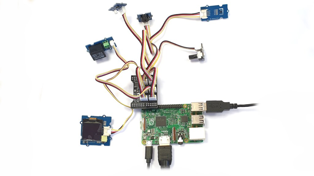 Raspberry Pi prototype to an industrial design - before