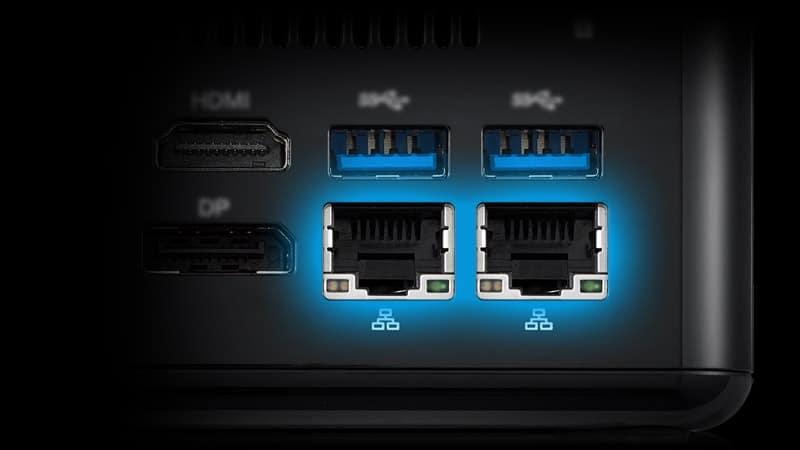AMD Ryzen Embedded LAN