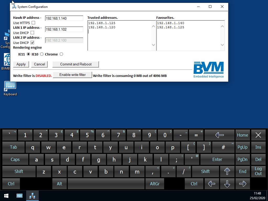 BVM Easy Install Control Panel