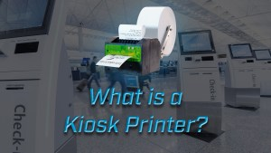 what is a kiosk printer