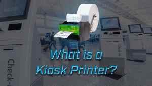 what is a kiosk printer?