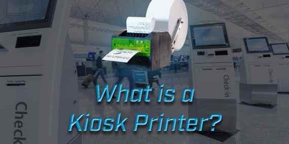 what is a kiosk printer