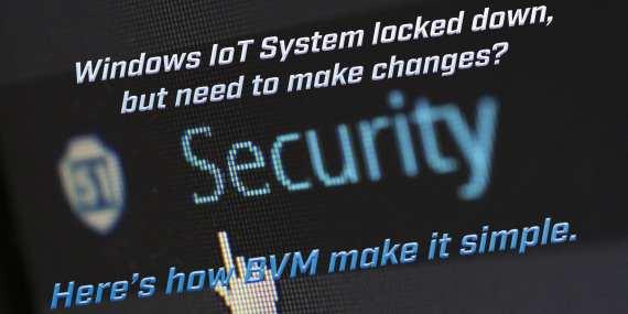 windows iot lockdown