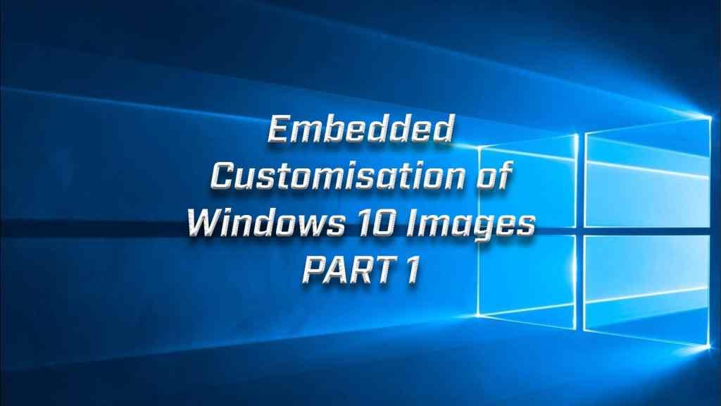 Custom Windows Part 1
