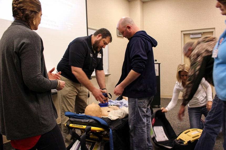 BVRMC AED Training