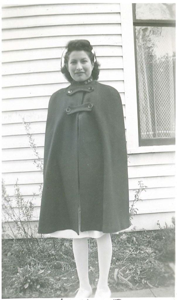 Photo of a Nurse in a cape.