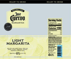 Jose Cuervo Sparkling Margarita