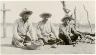 Yaqui men - 1921