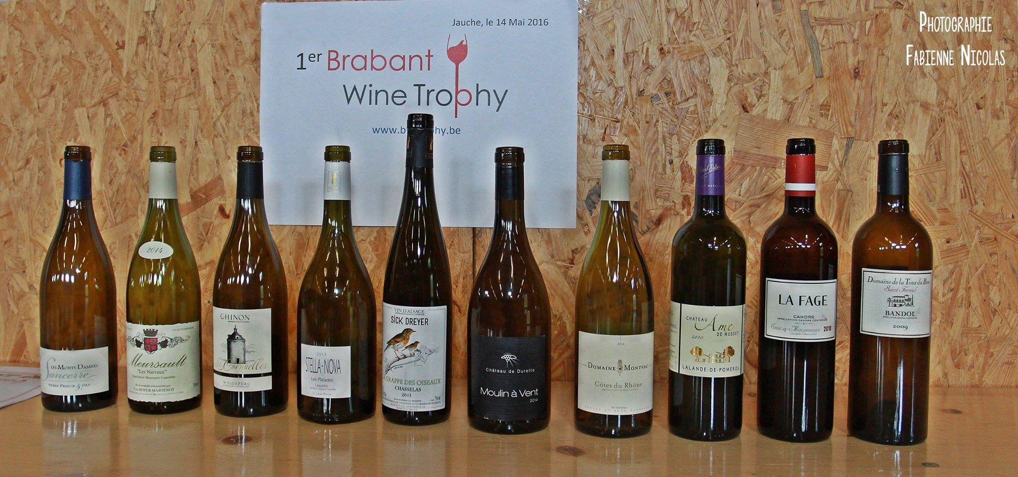Brabant Wine Trophy: Nouveau Concours Oenologique En