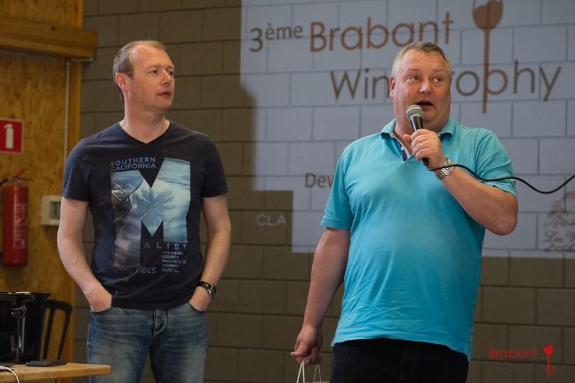 Les gagnants du Brabant Winte Trophy 2018: Thierry & Eric Dewingaerden