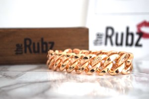 The Rubz Classic Metal Rose Gold