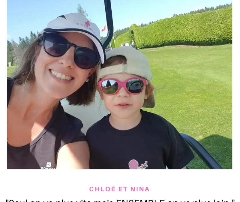 Interview de Chloé, maman de Nina très engagée pour l'association Un souffle pour Nina