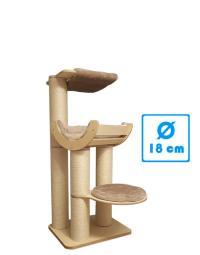 Kratzbaum Robusta Holz RH2390 0