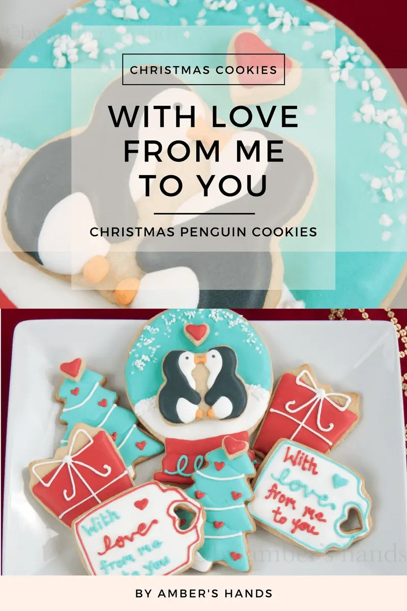 Penguin Cookies -by amber's hands-