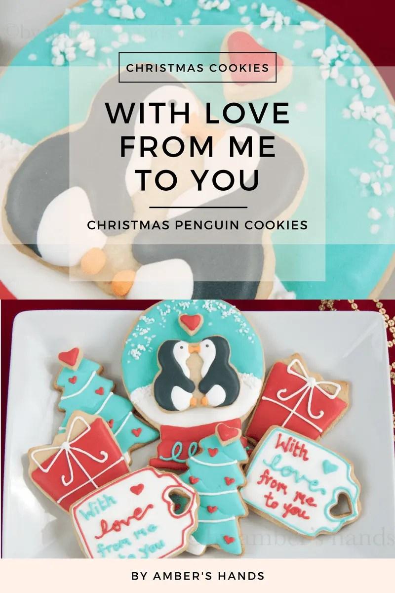 Penguin Cookies -by amber's hands-