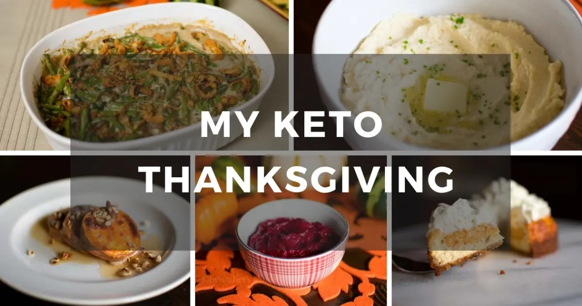 A Low Carb Thanksgiving Spread -by amber's hands-
