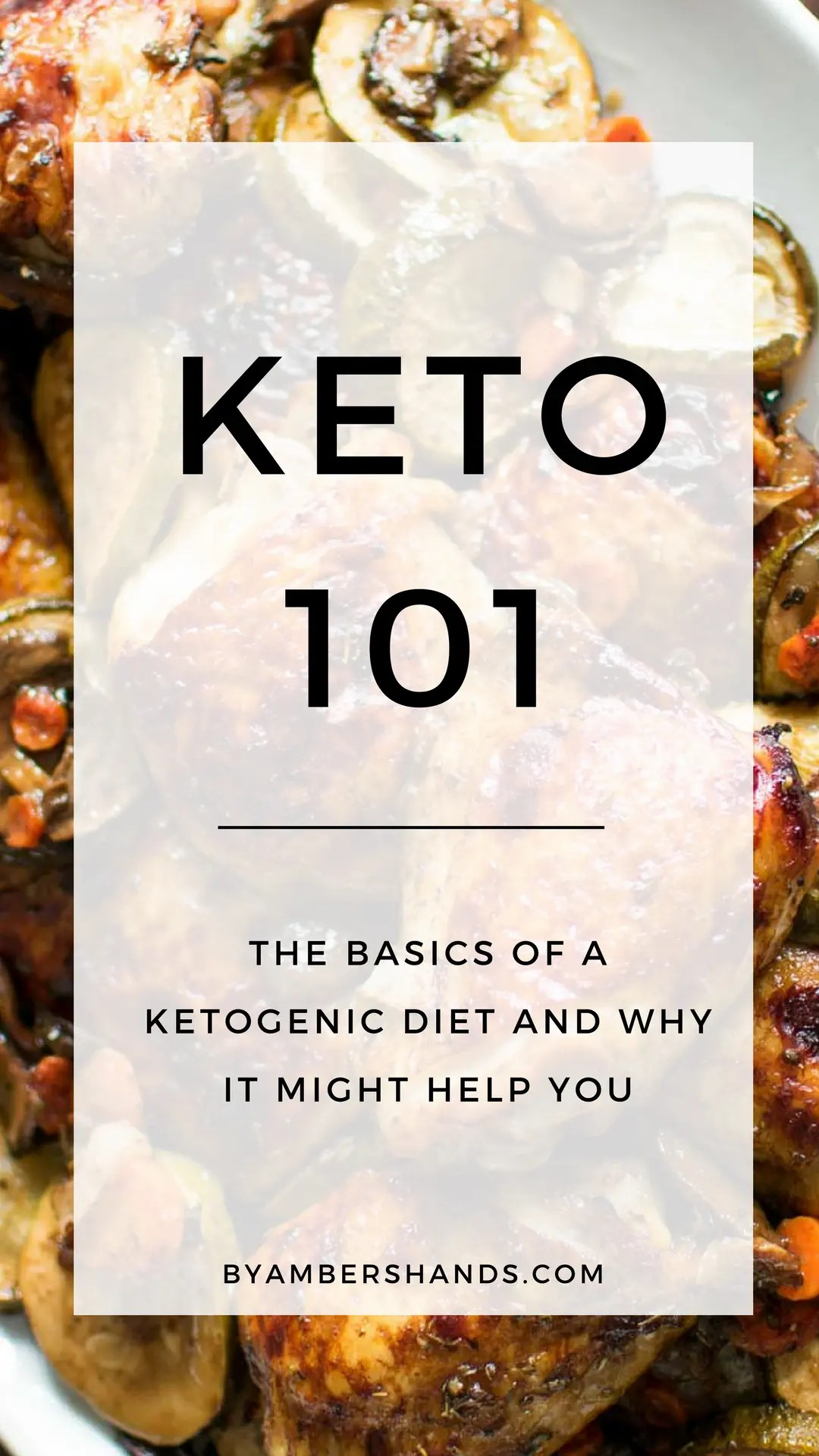 Keto 101: The Basics for Beginners -by amber's hands-