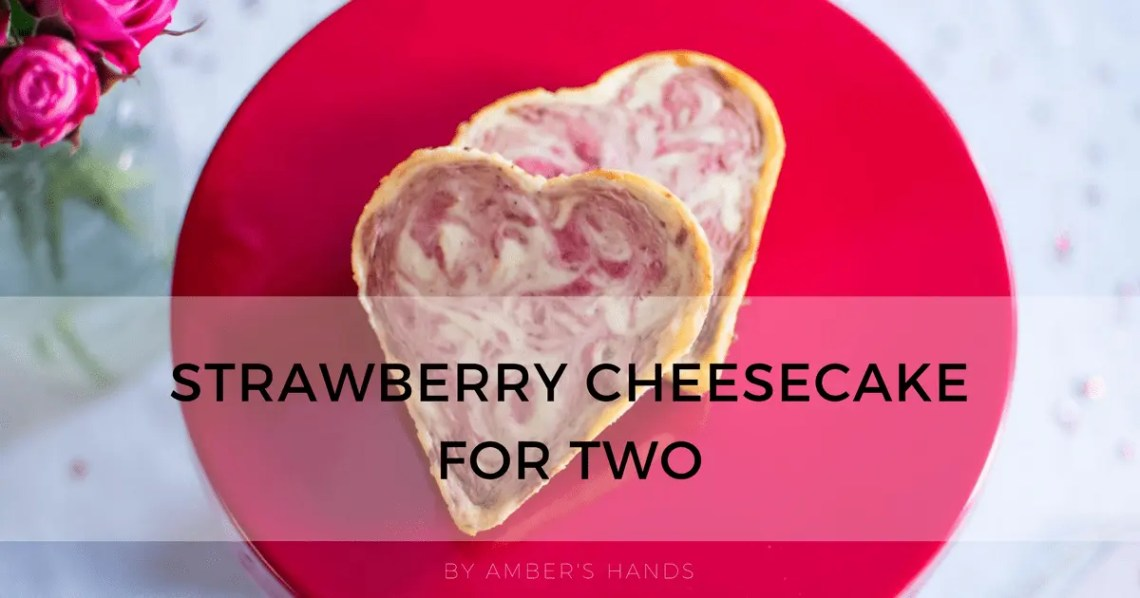 Keto Strawberry Cheesecake for Two -by amber's hands-