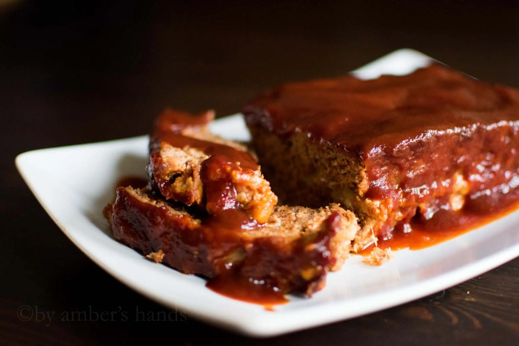 Keto BBQ Meatloaf -by amber's hands-