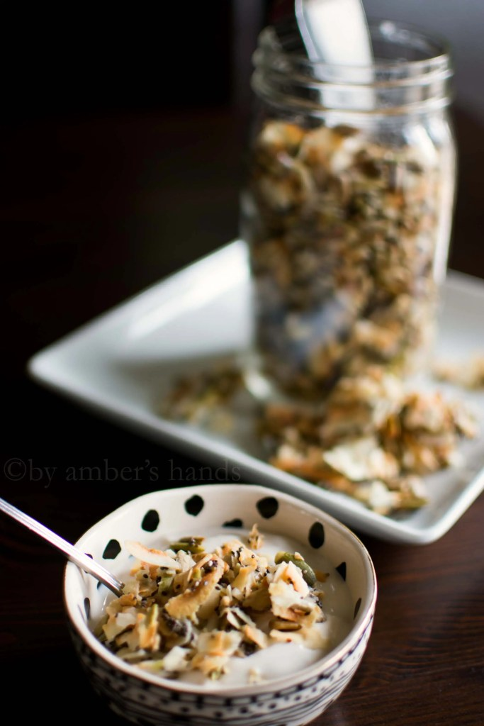 Keto Coconut Clusters -by amber's hands-