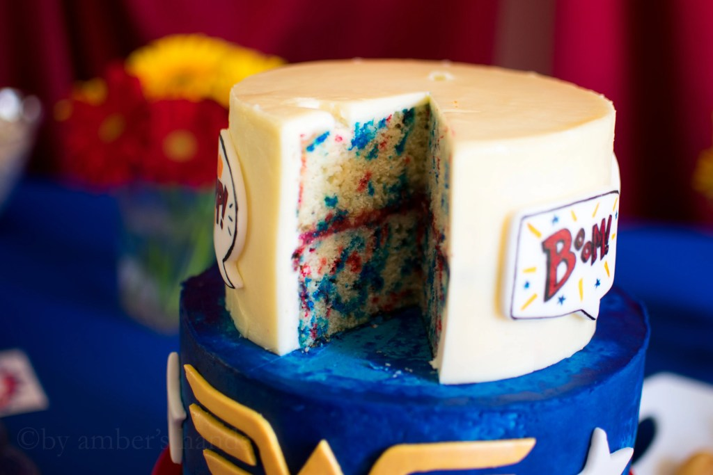 Wonder Woman Birthday Party -by amber's hands-