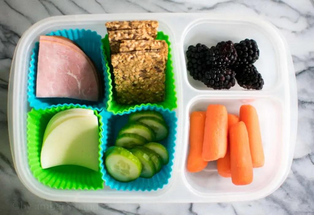 Healthy Lunch Box Ideas -keto cake walk-