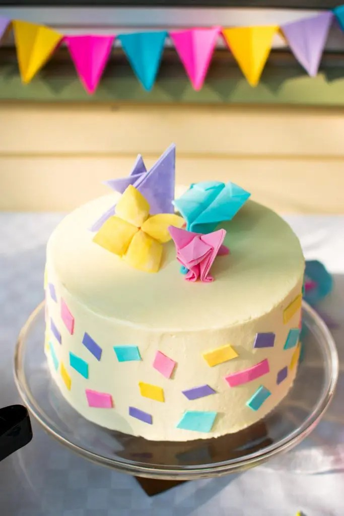 Kids Origami Birthday Party -by amber's hands-