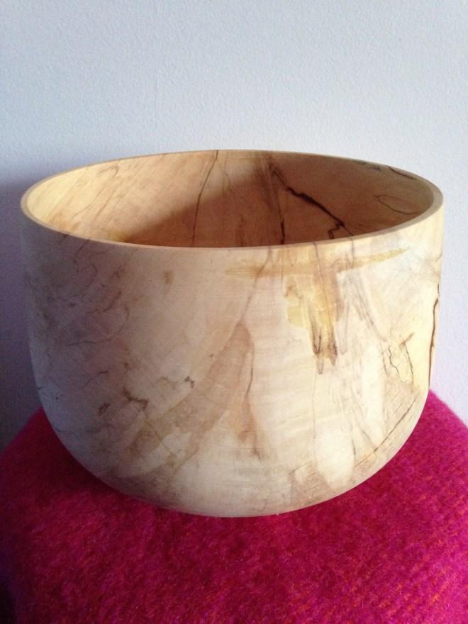 trædrejning woodturning træ skål