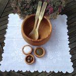 træ trædrejning woodturning salatskål saltkar peberkar