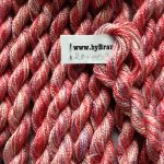 silkegarn håndfarvet handdyed silkyarn broderi
